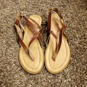 Blowfish brown sandals